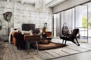 Vintage à l'intérieur: Comment bien meubler et décorer